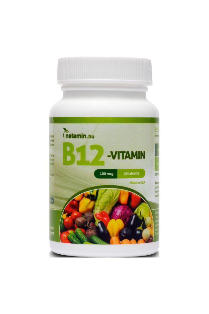 Netamin Vitamin B12 40 kap.