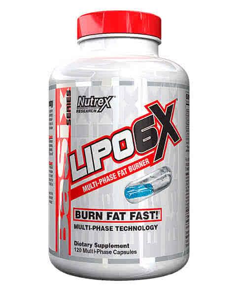 NutreX Research Lipo-6X 120 kap.
