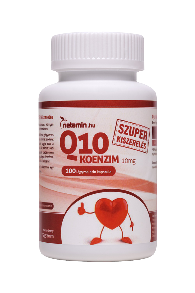 Netamin Q10 Coenzyme 10mg 100 kap.