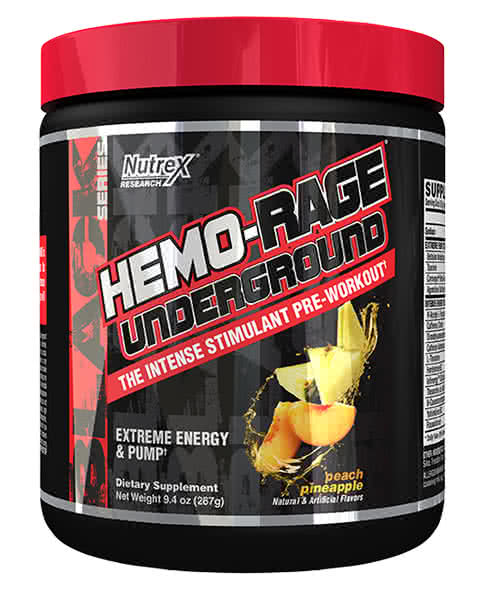 NutreX Research Hemo-Rage Underground 243 gr.