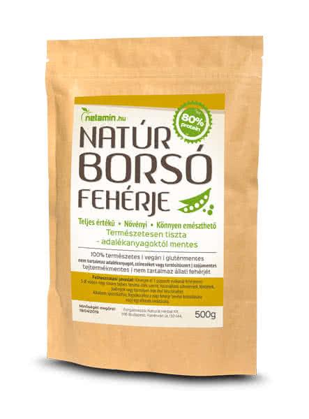 Netamin Natural Pea Protein 0,5 kg
