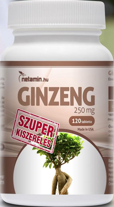 Netamin Super Ginseng 250 mg 120 tab.