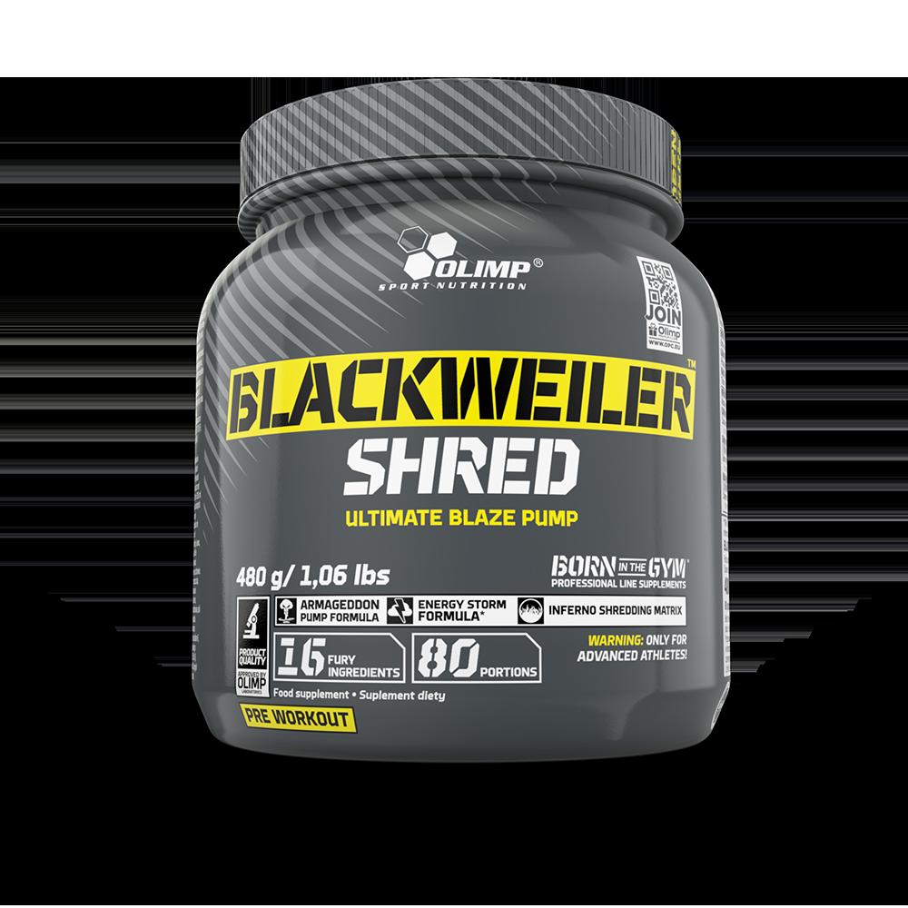 Olimp Sport Nutrition Blackweiler Shred 480 gr.