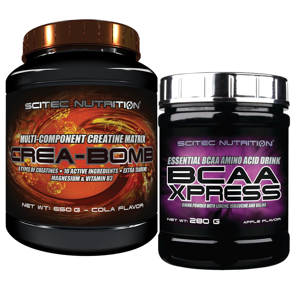 Scitec Nutrition Crea-Bomb + BCAA-Xpress Set