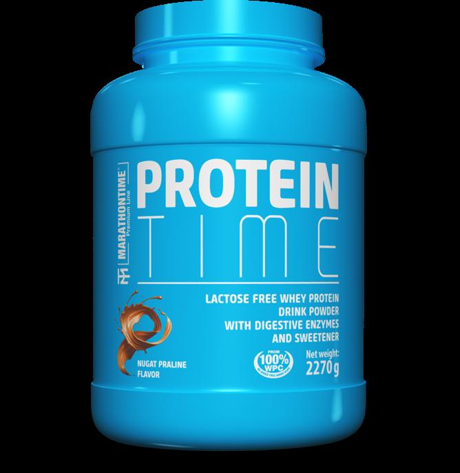 Marathontime Premium Line Protein Time Lactose Free 2,27 kg