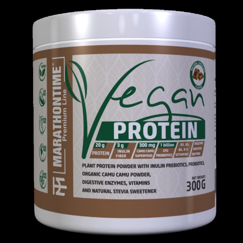 Marathontime Premium Line Vegan Protein 0,3 kg