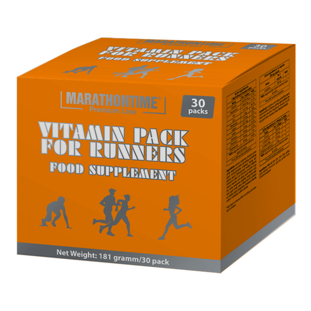 Marathontime Premium Line Vitamin Pack for Runners 30 Pak.