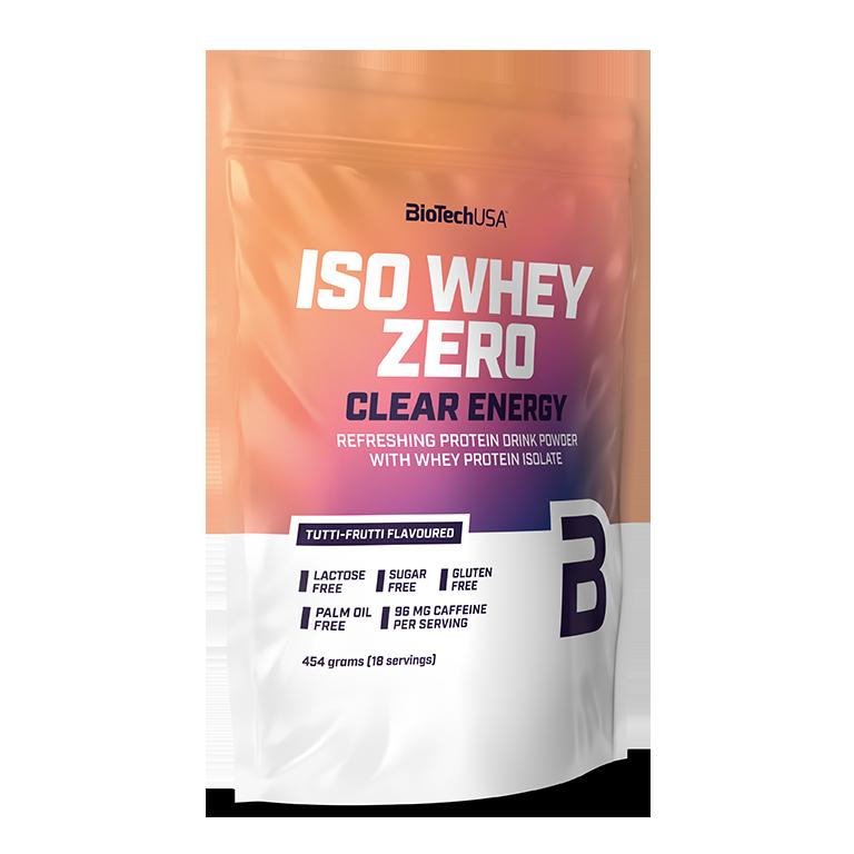 BioTech USA Iso Whey Zero Clear Energy 0,454 kg