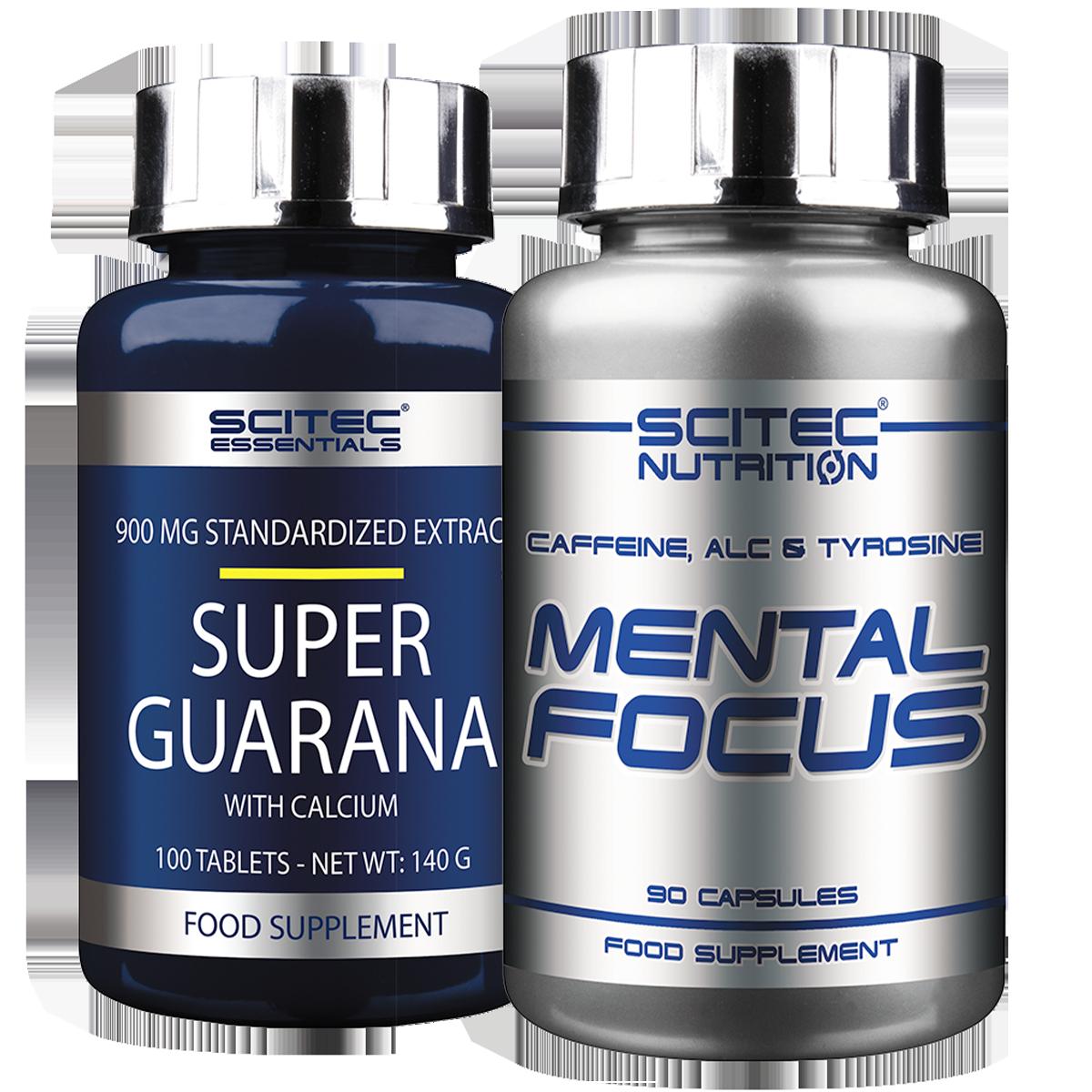 Scitec Nutrition Mental Focus + Super Guarana Set