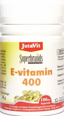 JutaVit Vitamin E 100 kap.