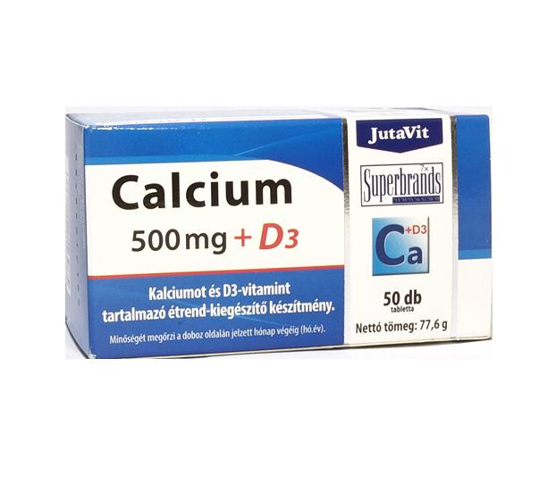 JutaVit Calcium 500 mg + D3 50 tab.