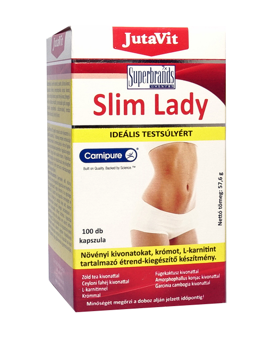 JutaVit Slim Lady 100 kap.