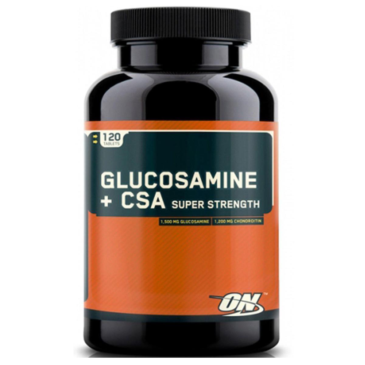 Optimum Nutrition Glucosamine + CSA Caps 120 kap.