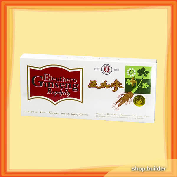 Dr. Chen Eleuthero Ginseng w. Royal Jelly 10x10 ml.