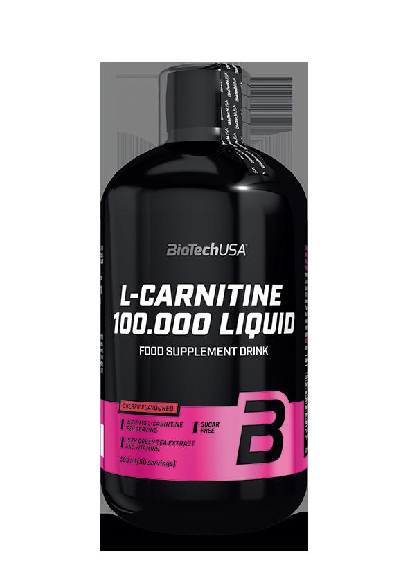 BioTech USA L-Carnitine 100.000 Liquid 0,5 lit.