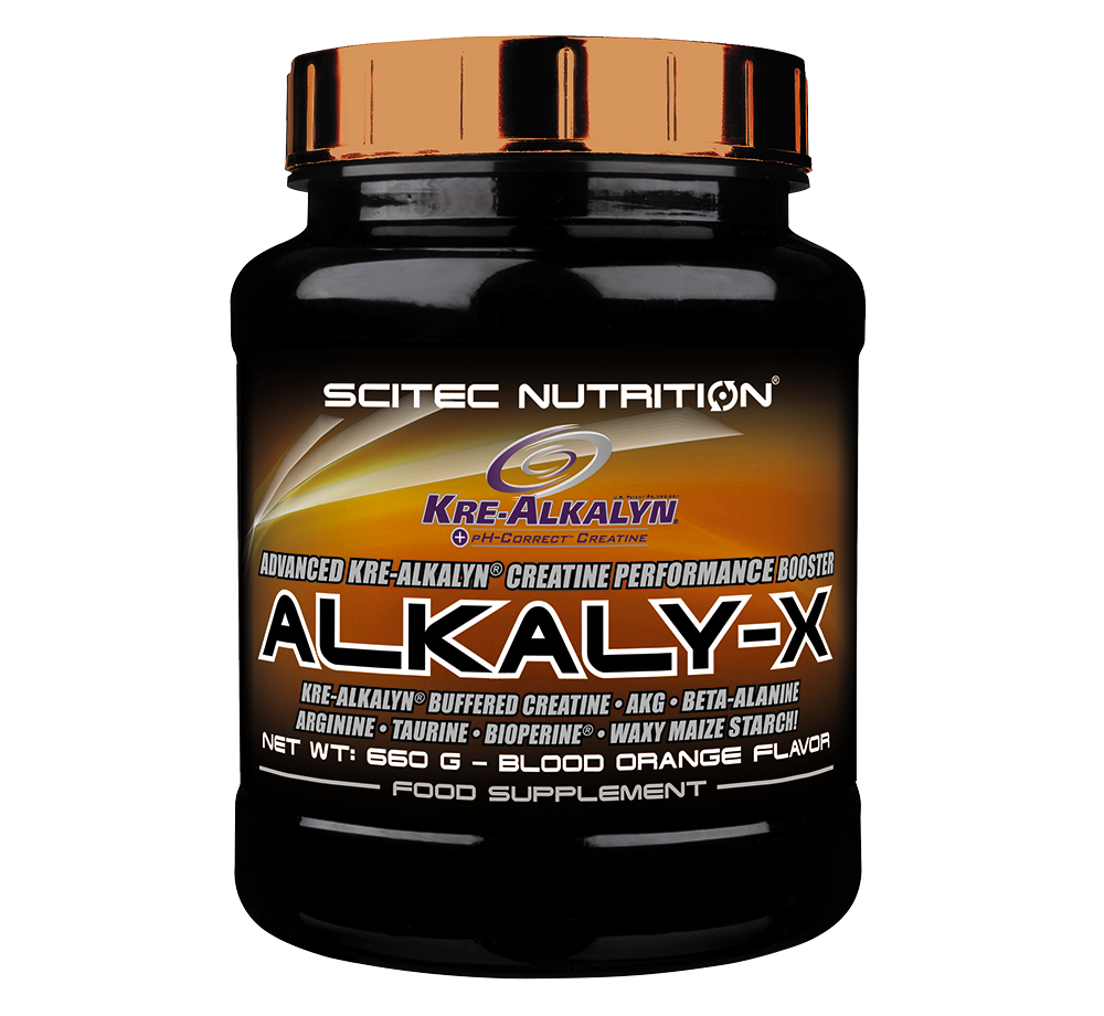 Scitec Nutrition Alkaly-X 660 gr.