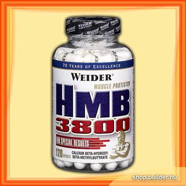 Weider Nutrition HMB 3800 120 kap.