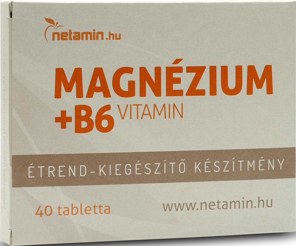 Netamin Magnesium + Vitamin B6 40 tab.