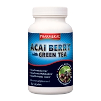 Pharmekal Health Acai Berry With Green Tea (120 kap.)