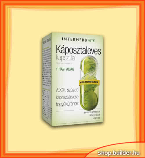 Interherb Cabbage Soup Capsules 60 kap.