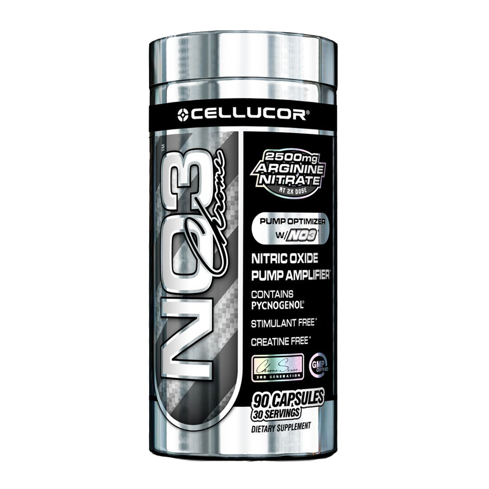 Cellucor NO3 Black Chrome 90 kap.